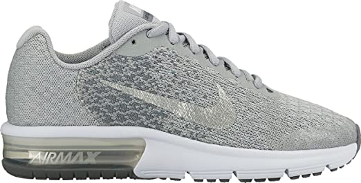 nike air max sequent 2 gs 869994 001 amazon co uk clothing