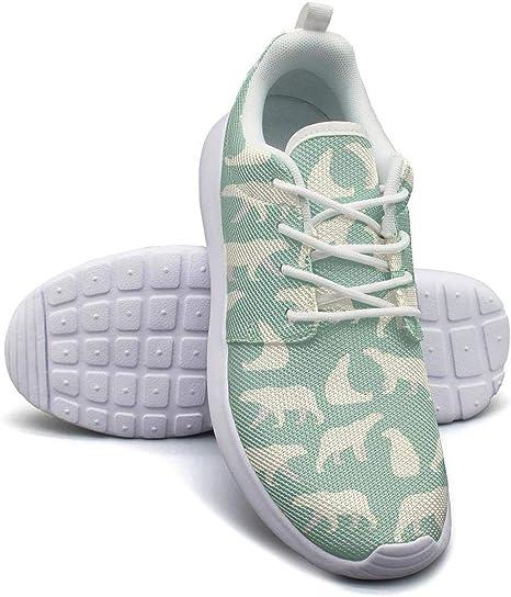 YSLC - Zapatillas de Running para Mujer, Suela de Goma, Color Verde: Amazon.es: Deportes y aire libre