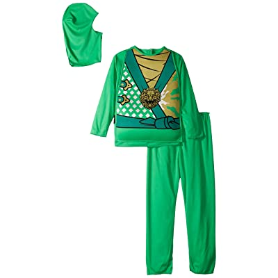 Charades Child's Ninja Avenger Series 4 Costume, Jade Green, Small: Toys & Games