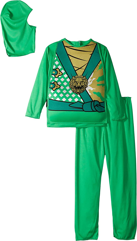 Charades Child's Ninja Avenger Series 4 Costume, Jade Green, Small