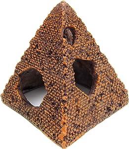 Alfie Pet - Ellora Aquarium Fish Pyramid Hideout for Fish Tank Landscape Décor
