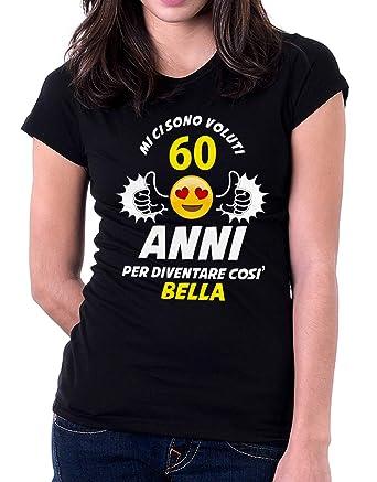 Camiseta con texto en italiano «Mi ci sono voluti 60 anni ...