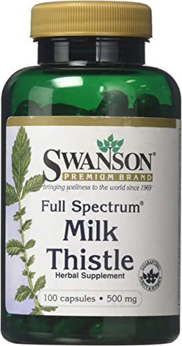 Swansom Premium Full Spectrum Milk Thistle Pack of 3