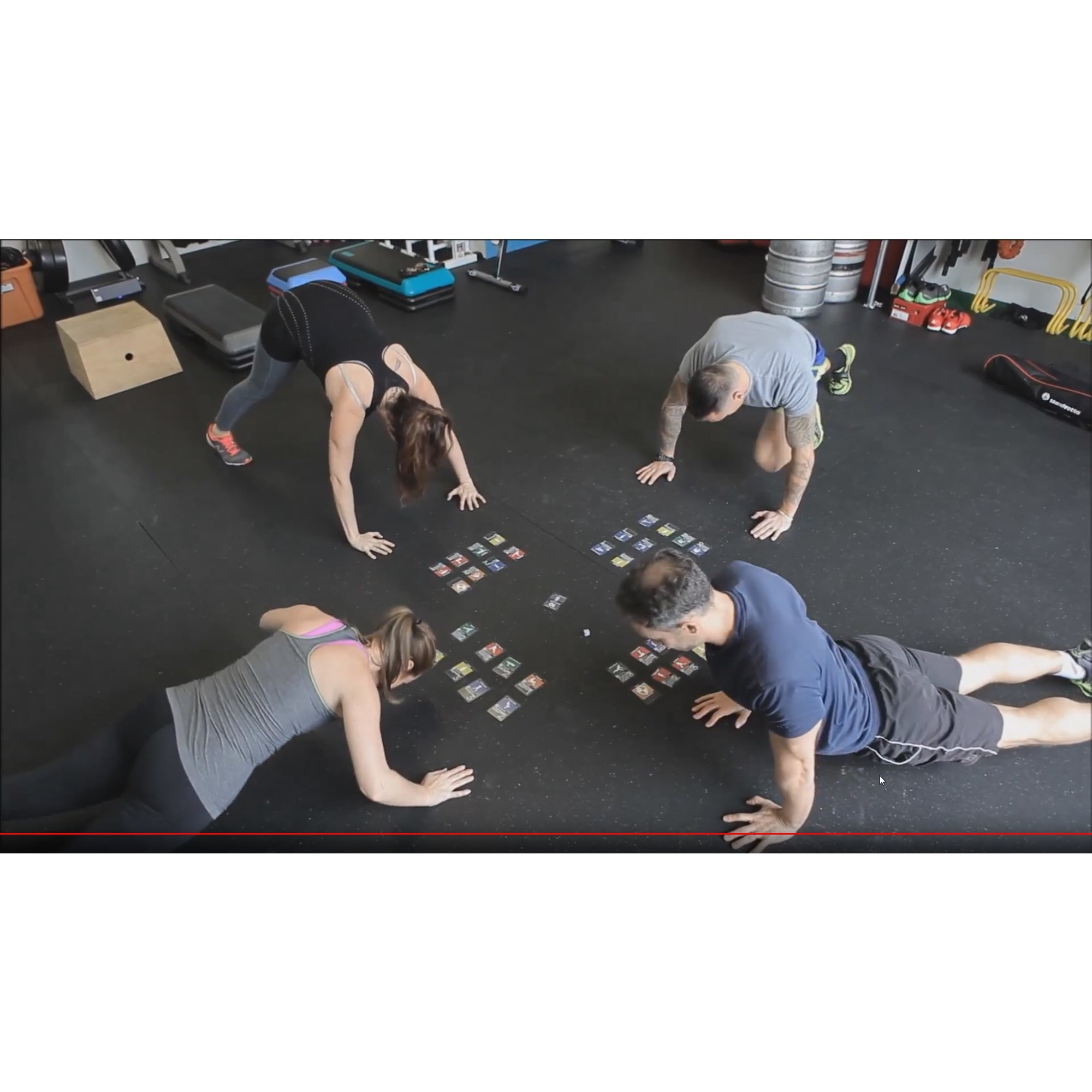 Stack 52 HIIT Interval Workout Game  Designed Military