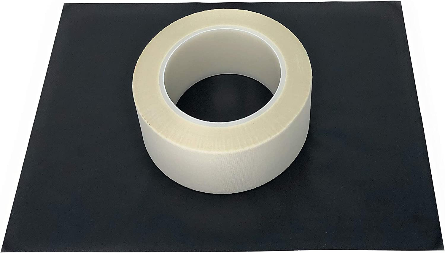APT, Glass Cloth Tape with a High-Temp Thermo-Setting Silicone Adhesive. High Temperature Masking for Plasma, Thermal and Metallization Applications (2'' x 36 Yds)