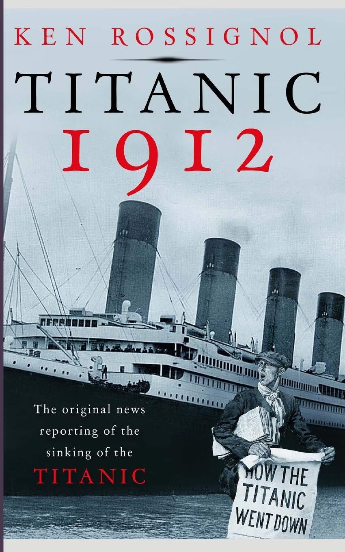 Titanic 1912 original reporting sinking product image