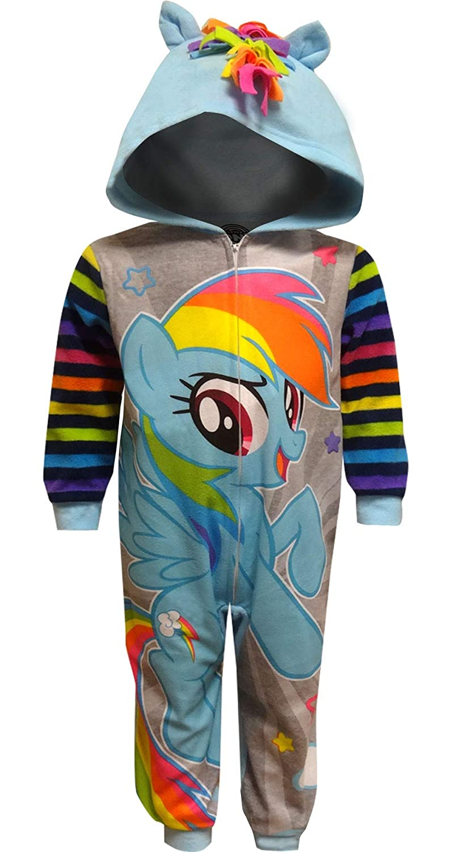 AME Sleepwear Girls My Little Pony Rainbow Dash Hooded Sleeper