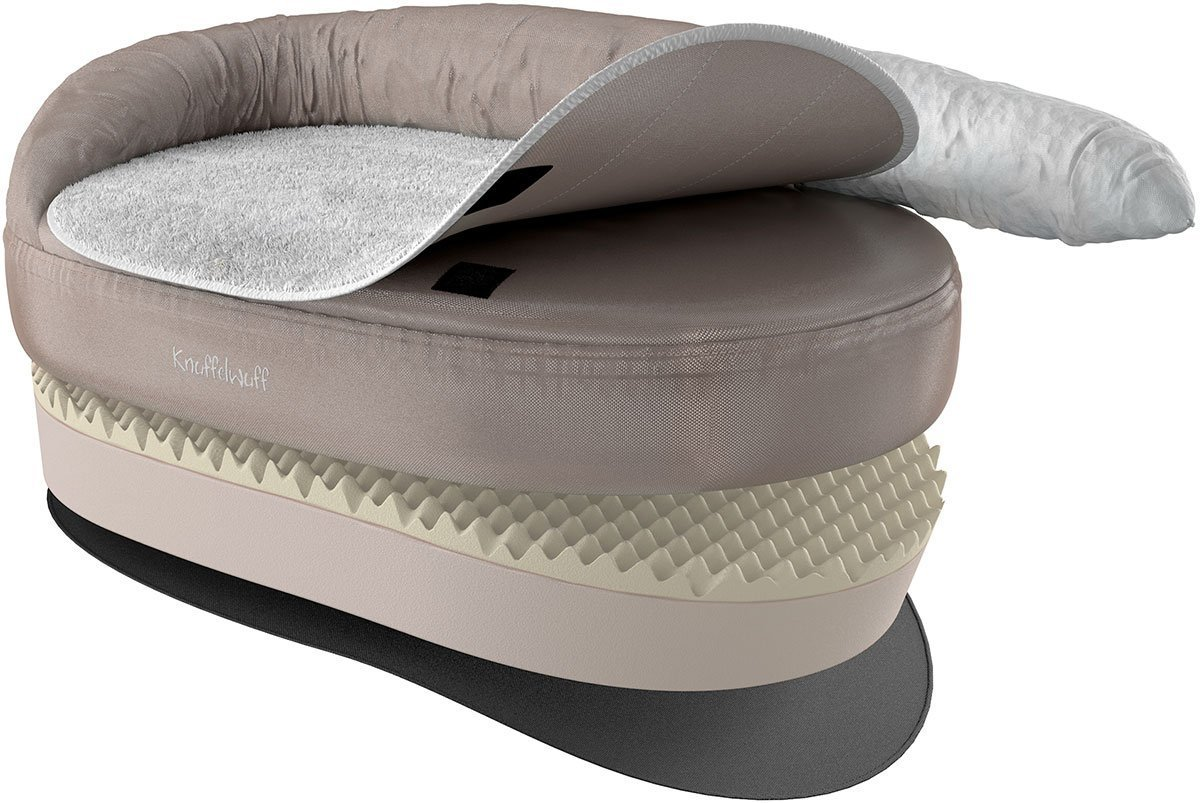 Knuffelwuff 13123 Orthopädisches Hundebett Ortho Bed Jessy - Größe S ...