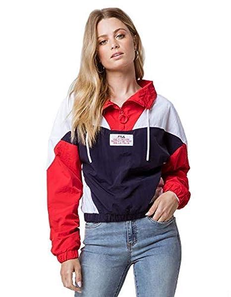 Amazon.com: Fila Womens Tessa Funnel Neck Top: Clothing