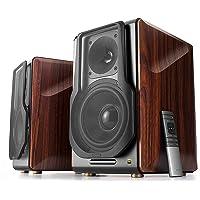 Edifier S3000Pro Audiophile Active Speakers - Bluetooth 5.0 aptX Wireless, USB Audio, Planar Diaphragm Tweeters and 6.5…