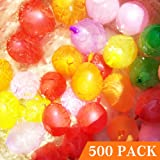 Hibery Pack of 500 Water Balloons Colorful with