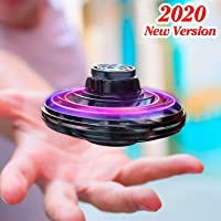 FlyNova Flying Toy Drones, 2020 Upgraded The Most Tricked-Out Flying Spinner Hand Operated Drones for Kids or Adults…