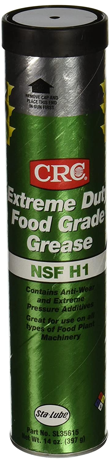 CRC SL35615 Extreme Duty Food Grade Grease, 14 Ounce, Tan, Smooth Grease