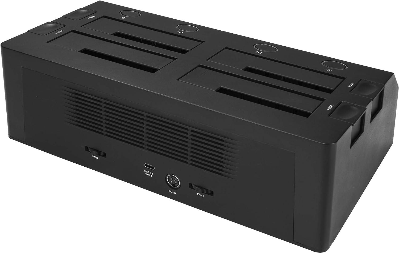 "10Gbps 4-Bay SATA SSD//HDD Docking Station External USB 3.1 SDOCK4U313 SATA SS//HDD Dock for 2.5/""//3.5 SSDs//HDDs"