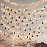 Twinkle Star 200 LED 66 FT Copper String Lights Fairy String Lights 8 Modes LED String Lights USB Powered with Remote…