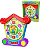 The Learning Journey: Early Learning - Hickory Dickory Dock - Three Play Modes to Teach Colors, Numbers & Shapes