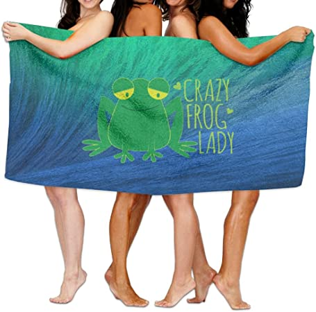 MINT GREEN COLOR HAND TOWEL FROG  APPLIQUE DESIGN EMBROIDERED