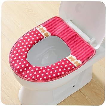 Sensational Liobaba Toilet Set Bathroom Soft Thicker Warmer Toilet Seat Machost Co Dining Chair Design Ideas Machostcouk