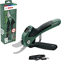 Bosch EasyPrune Cordless Powered Secateurs (Integrated Lithium Ion Battery, 3,6 Volt, In Blister Pack)