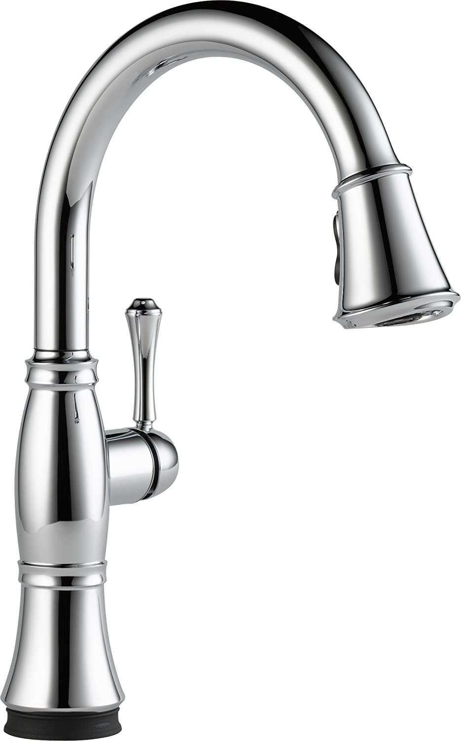 Delta Faucet 9197T DST Cassidy Single Handle Pull Down Kitchen Faucet With  Touch2O Technology And Magnetic Docking, Chrome   Touch On Kitchen Sink  Faucets ...