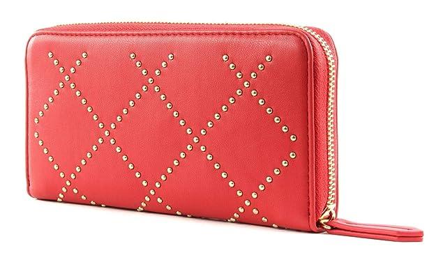 Cartera V Mandolino Rojo 19x10x2 cm VPS3KI155: Amazon.es ...