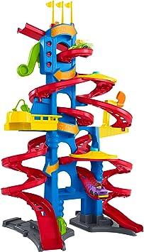 Little People - Garaje Cochelandia, Parking Juguetes Coches Bebés 1 año (Mattel FXK61) , color/modelo surtido