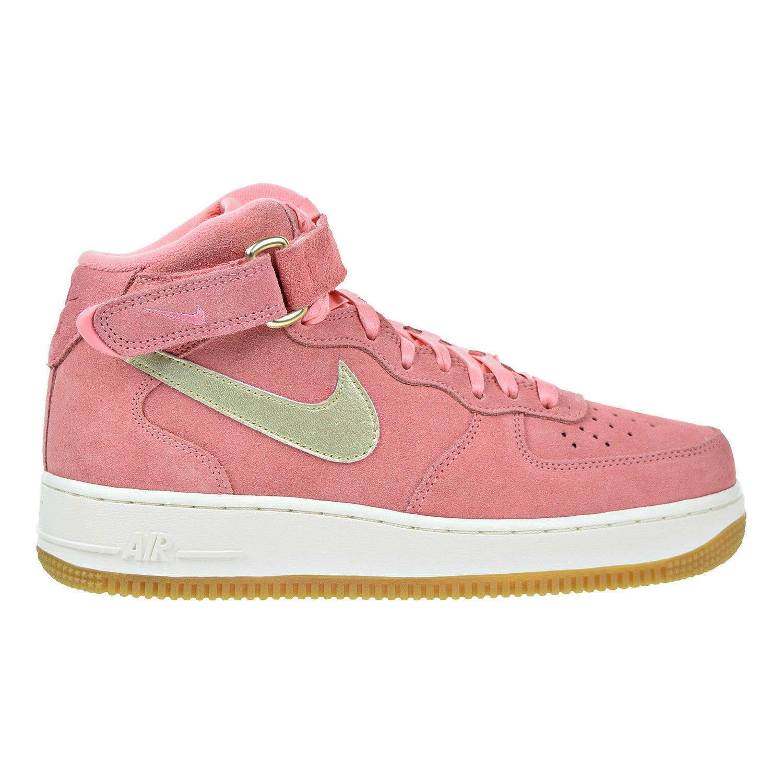 nowy styl szczegółowy wygląd całkowicie stylowy Nike Air Force 1 '07 Mid Seasonal Bright Melon/Metallic Gold ...