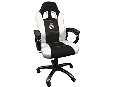 Real Madrid Silla gaming - Sillón gamer de oficina accesorio PS4 ...