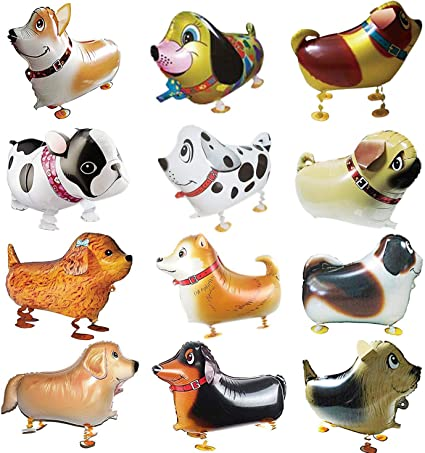 Amazon.com: Globos de animales de paseo, 12 piezas, para ...