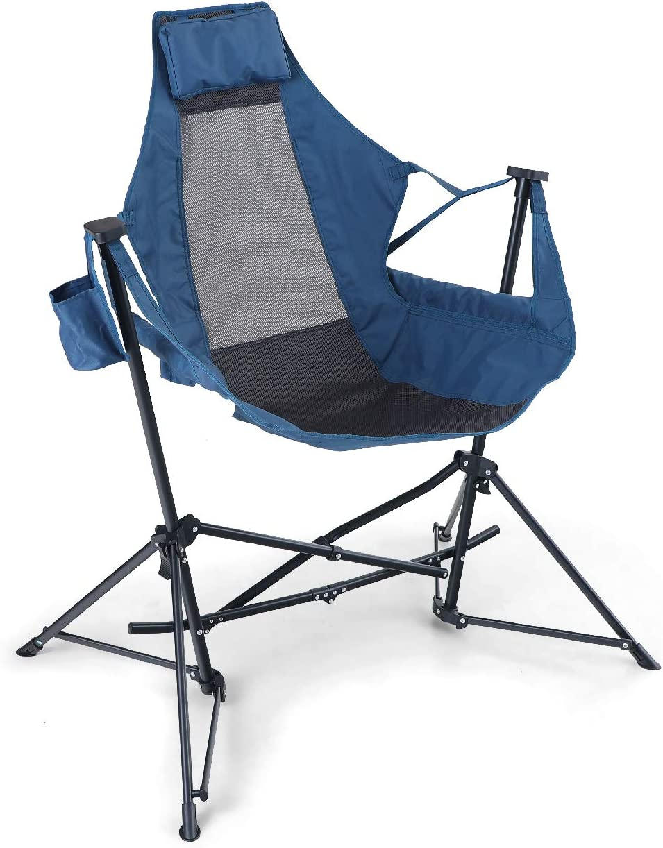 Alpha Camp Hammock Camping Chair Folding Swing Chair with Cup Drink Holder