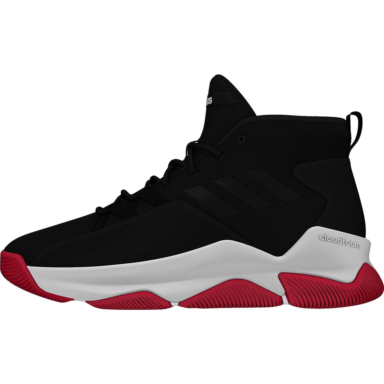 Noir (Negbás Gridos Escarl 0) adidas Streetfire, Chaussures de Basketball Homme 46 2 3 EU