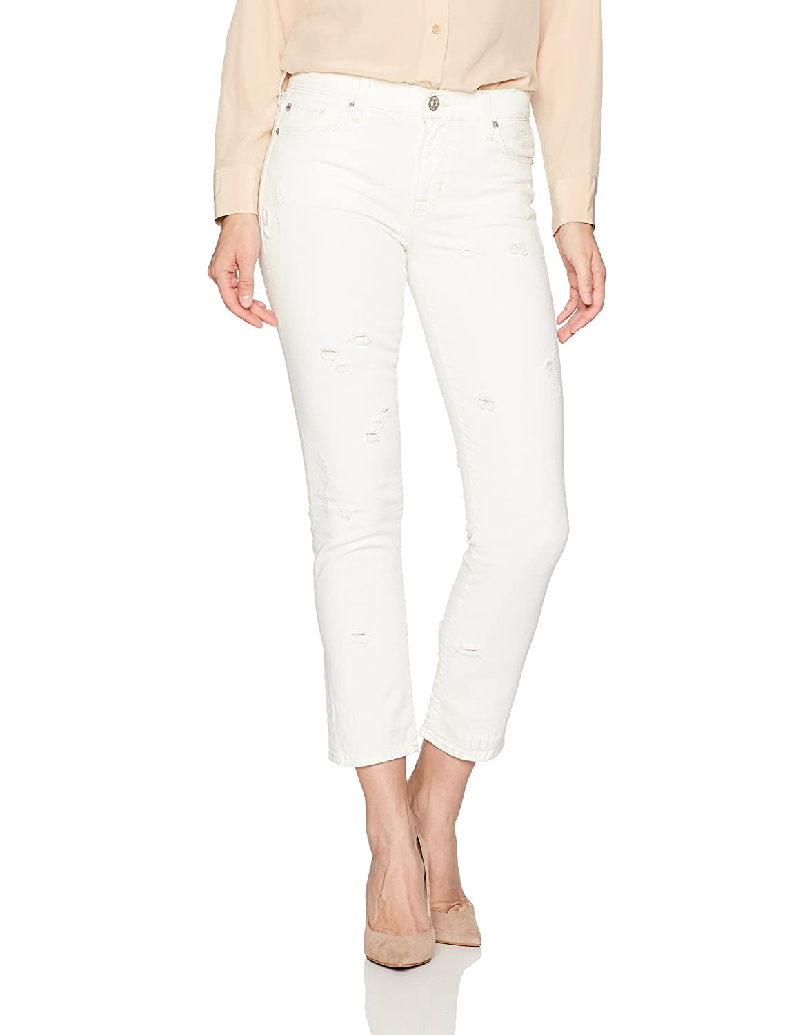 Hudson Jeans Womens Zoeey High Rise Straight Jean