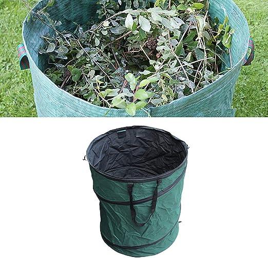 Hpera Sacos Jardin Saco Jardin Garden Refuse Bolsas Bolsas de residuos de jardín de Alta Resistencia Gran Bolsa de residuos de jardín s: Amazon.es: Hogar