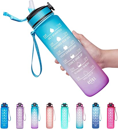 Giotto Leakproof BPA Free Drinking Water Bottle