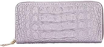 محفظة بنقشة جلد تمساح للنساء - رقم المنتج 1586 - 2