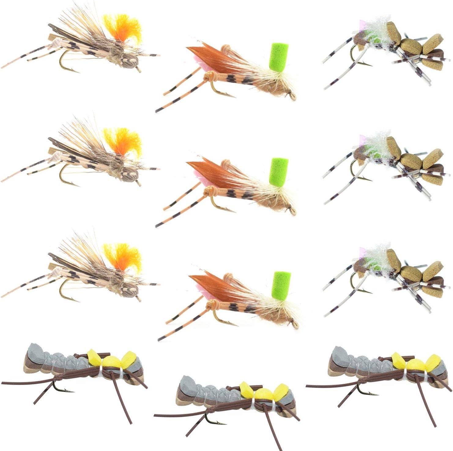 3D Foam Hopper Fly fishing flies