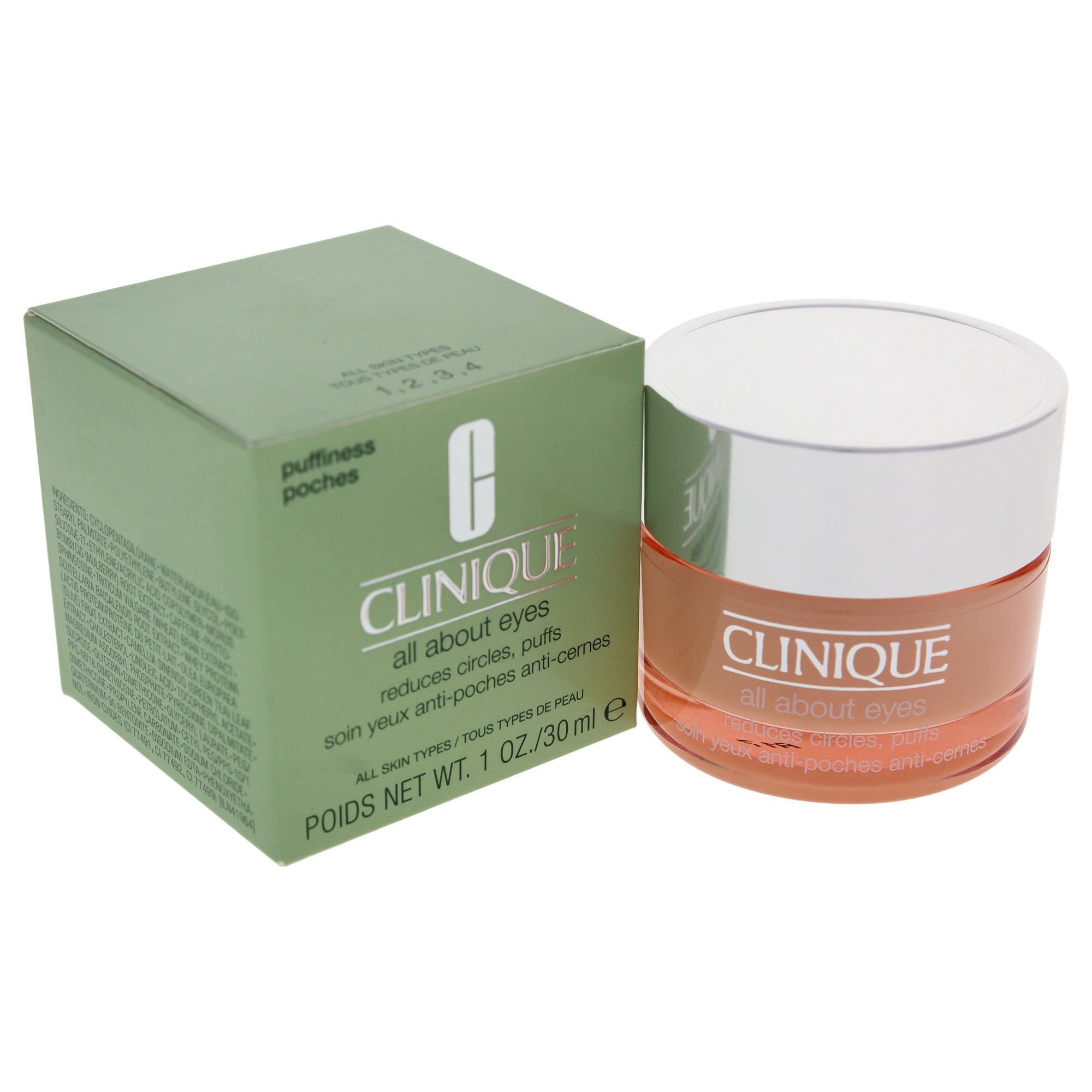Clinique All About Eyes by Clinique for Women - 1 oz Eye Cream. by Clinique