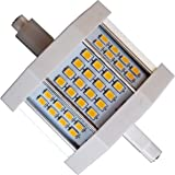 8W LED-Lampe-Brenner 780 Lumen dimmbar R7s-78 J78 Leuchtmittel 230V 78mm warm-weiß (8 Watt)