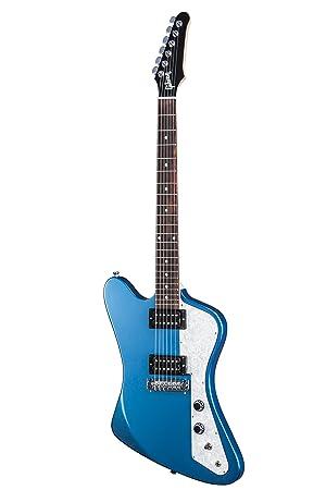 Gibson USA 2017 Firebird Zero Faded - Guitarra eléctrica, Pelham Blue (Amazon Exclusivo)
