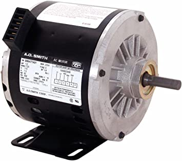 A O Smith Oteb2054a 1 2 Hp 1725 Rpm 1 Speed 56z Frame Cwle Rotation 1 2 Inch X 2 5 8 Inch Flat Shaft Oem Direct Replacement Electric Fan Motors Amazon Com