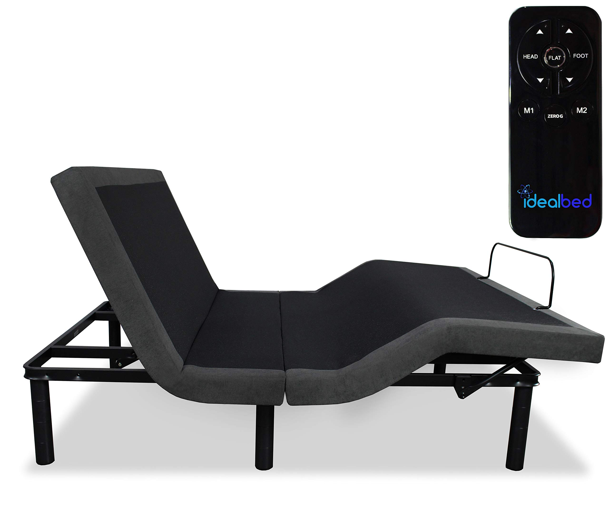 iDealBed 3i Custom Adjustable Bed Base, Wireless, Zero Gravity, One Touch Comfort Positions, Programmable Memory, Advanced Smooth Silent Operation (Full)