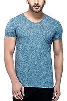 Tinted Men's Linen V-Neck T-Shirt