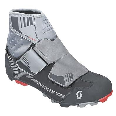SCOTT MTB Heather Gore-Tex Zapatillas de ciclismo de invierno, negro y gris, 2017, hombre, gris/negro, 46: Amazon.es: Deportes y aire libre