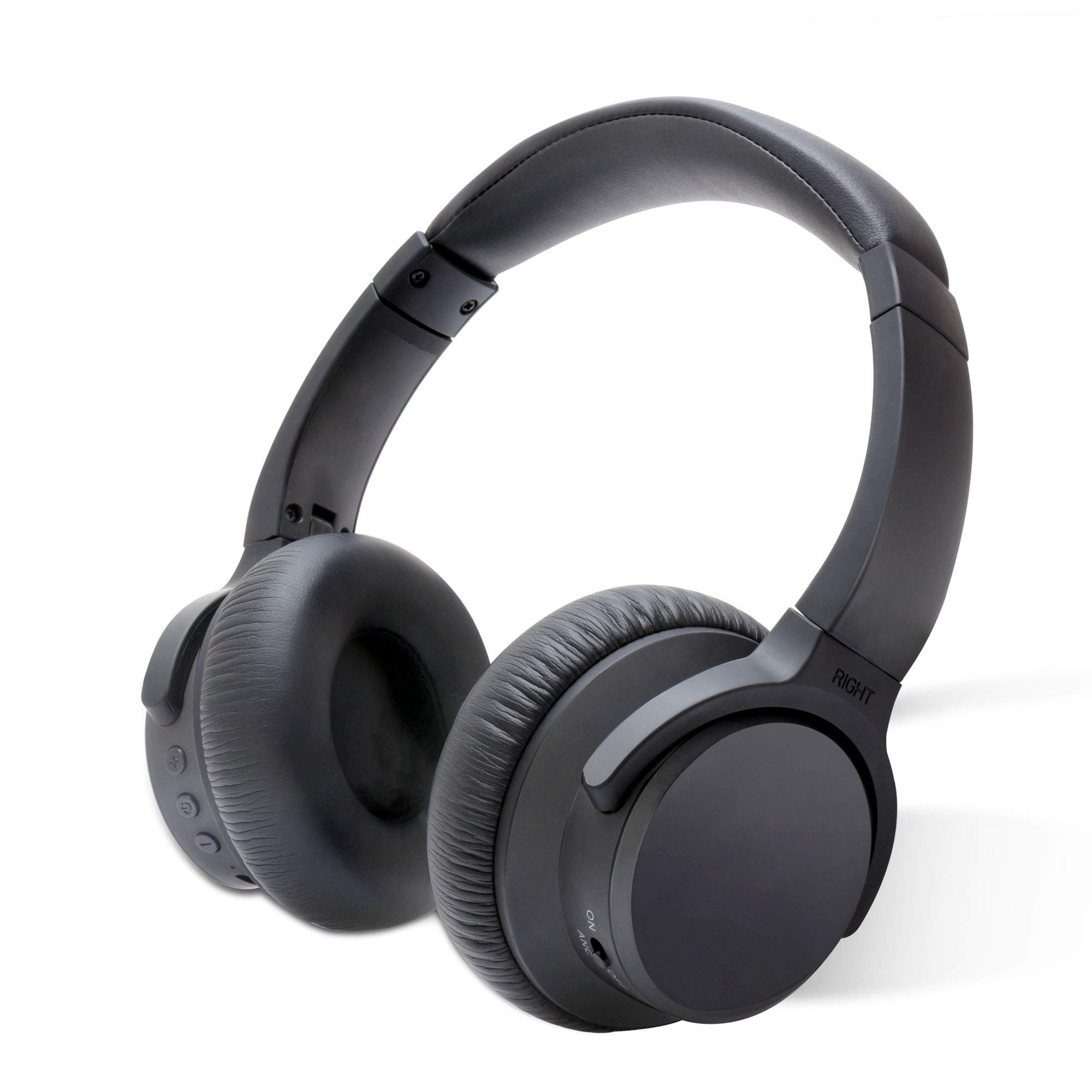 Auriculares Cancelacion de Ruido Activa HiFi Bass Stereo Headset ANC Bluetooth Plegable Compatible con Bluetooth Devices