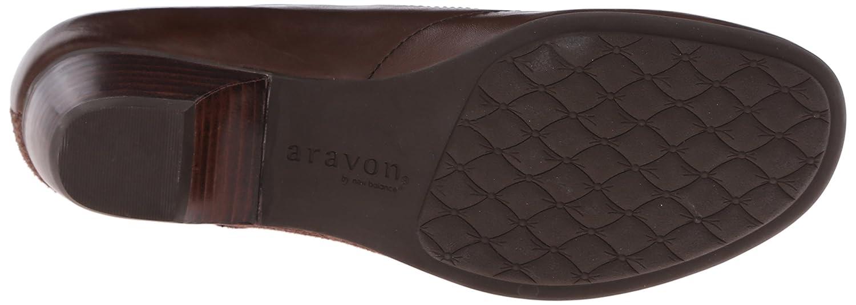 Aravon Women's Portia - AR Dress Pump B00UU3RQ0O 7 2A US|Brown/Multi