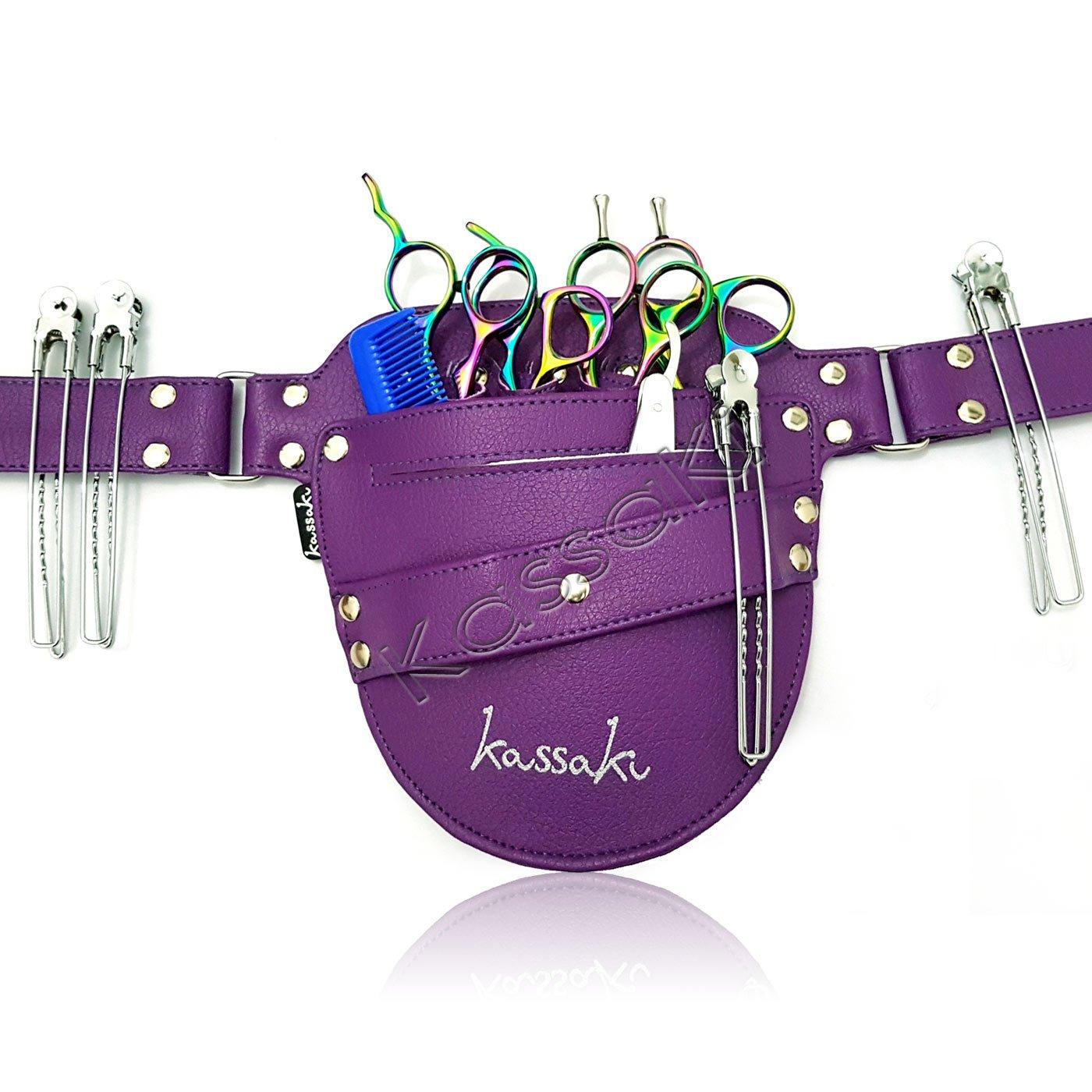 Scissor Pouch Hairdressing Holster Kassaki Equipment Kit Bag