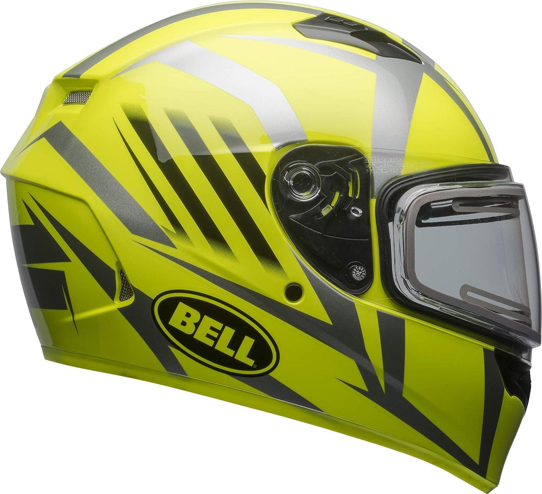 Matte Black, Large Bell Qualifier Electric Shield Snow Helmet