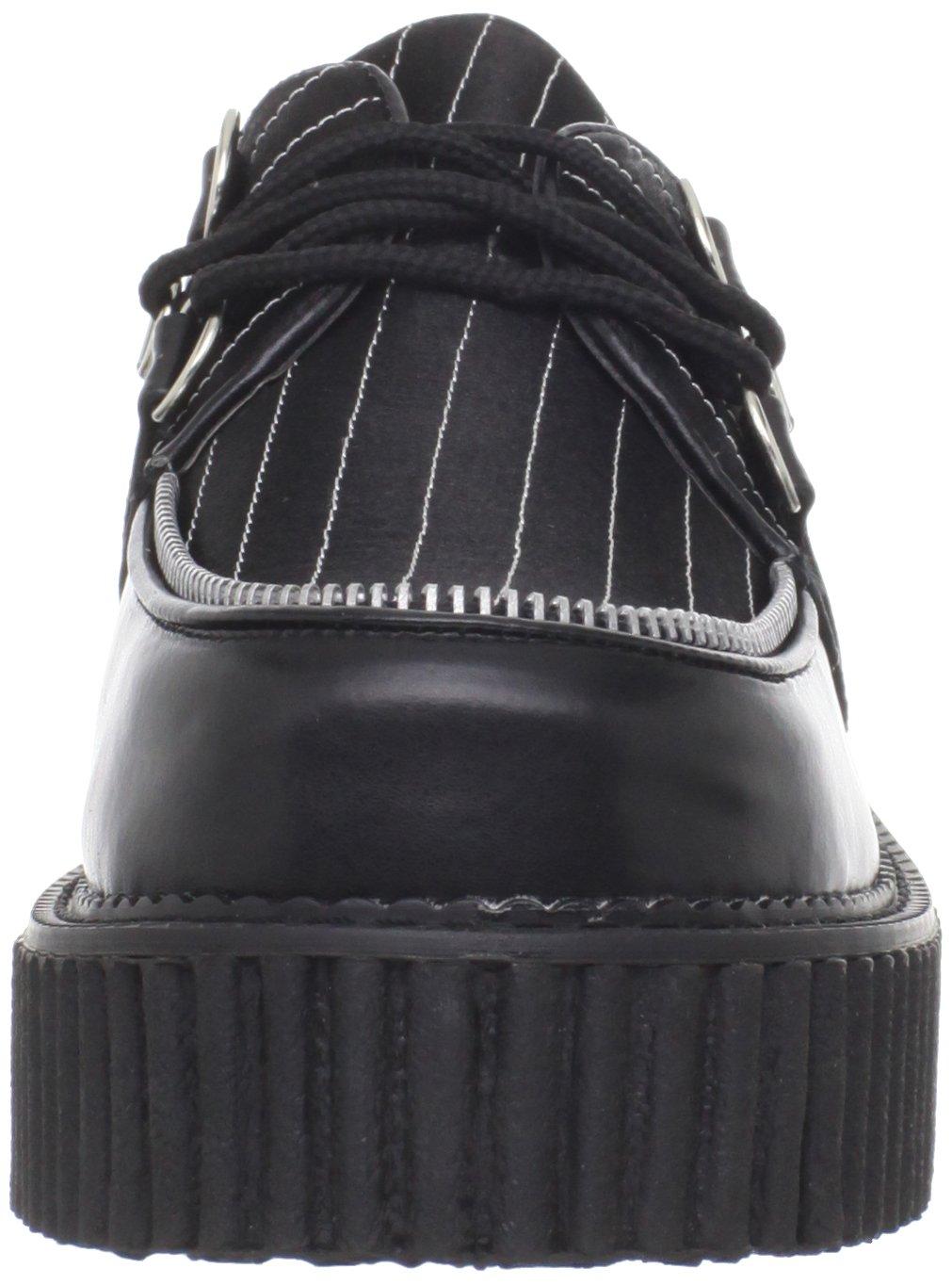 Demonia CREEPER-113 Blk Vegan Leather-Pinstripes UK UK UK 5 (EU 38) 158c98