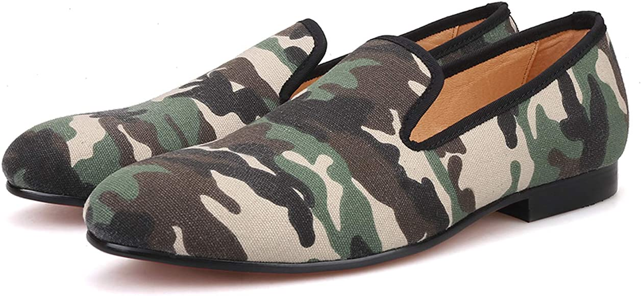 Merlutti Camouflage Casual Loafers Men