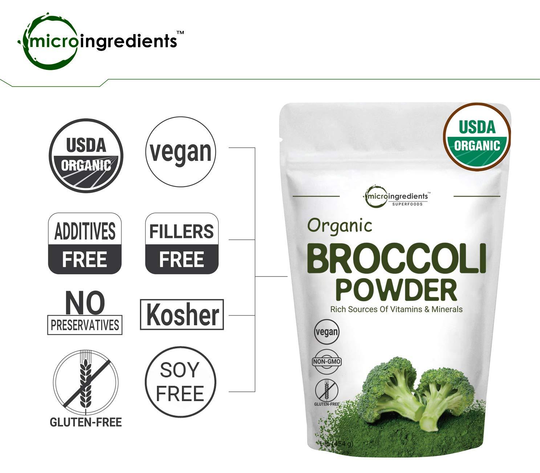 Amazon.com: Microingredientes en polvo de brócoli orgánico ...